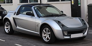 Smart Roadster car model