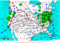 2006-01-14 Surface Weather Map NOAA.png