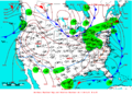 2007-01-19 Surface Weather Map NOAA.png