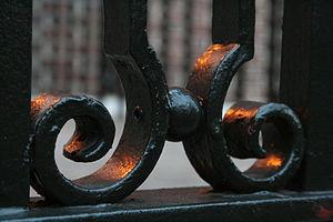 Curlicue - Image: 2008 06 26 Wrought iron railing curls