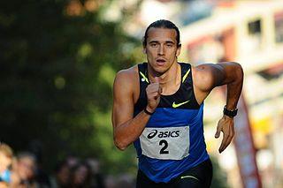 Cédric Van Branteghem Belgian sprinter