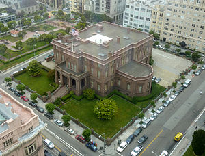 Pacific-Union Club - The James C. Flood Mansion is the home of the Pacific-Union Club