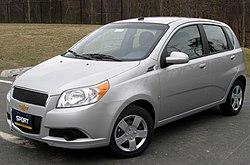 2009 Chevrolet Aveo5 LS (US)