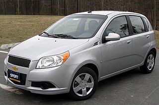 Subcompact car American definition to indicate an automobile with a class size smaller than that of a compact car
