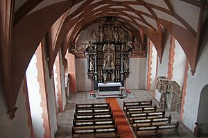 Schloss Johannisburg - Chapel with rib vault inspired by Gothic architecture
