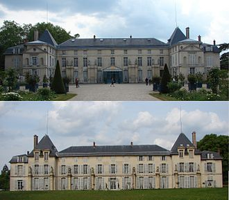 Rueil-Malmaison - Image: 2011 Chateau de Malmaison recto verso