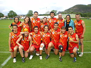 2011 Touch World Cup - Catalonian's national mixed team.JPG