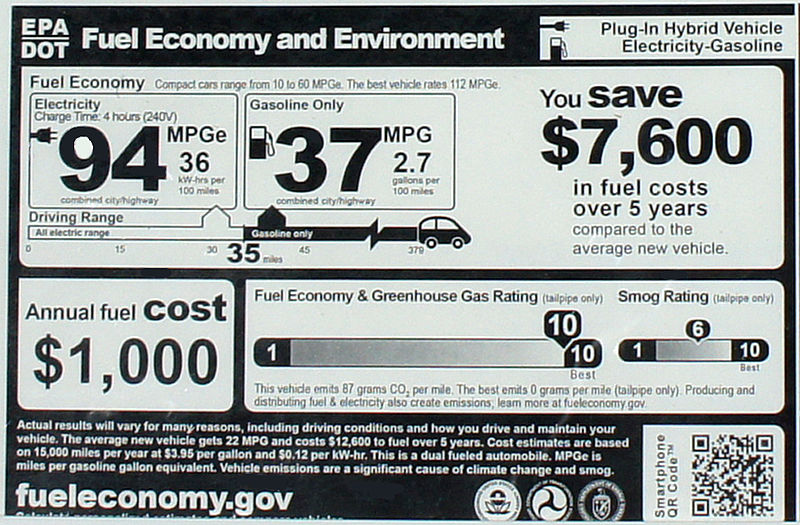 File:2012 Chevrolet Volt EPA window sticker 0483.jpg