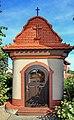 2012 Powiat wodzisławski, Gołkowice, Przydrożna kapliczka przy ulicy Jana III Sobieskiego (02).jpg