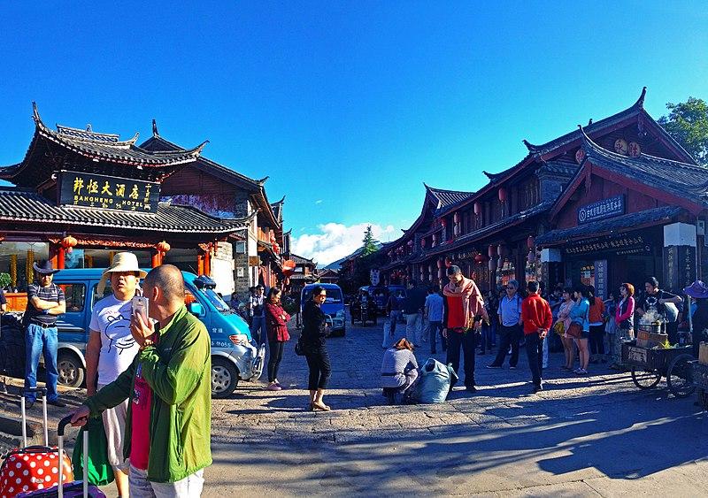 Cidades antigas ao redor do mundo na China