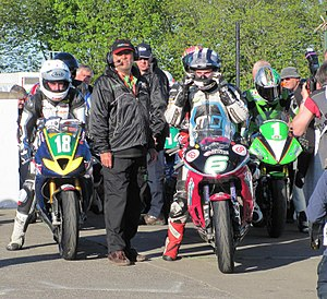 2013 Isle of Man TT - Image: 2013 Isle of Man TT 1 (cropped)