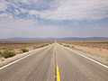 2014-07-17 11 50 13 View west along U.S. Route 6 about 17.3 miles east of the Esmeralda County Line in Nye County, Nevada.JPG