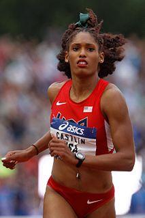 Kristi Castlin American track and field athlete