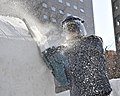 2014 Navy Misawa Snow Team continues sculpting for the 65th Annual Sapporo Snow Festiva 140131-N-ZI955-216.jpg