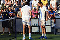 2014 US Open (Tennis) - Tournament - Michael Llodra and Nicolas Mahut (14945178818).jpg