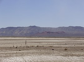 2015-04-18 12 48 23 View of Topog Peak and the westernmost part of the West Humboldt Range from U.S. Route 95 near the junction with Interstate 80 in Churchill County, Nevada.JPG