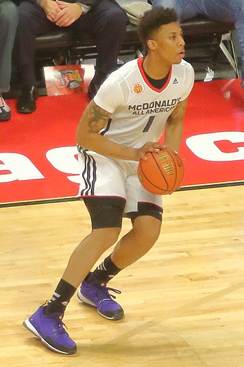Malachi Richardson 20150401 MCDAAG Malachi Richardson setting up for a J.JPG