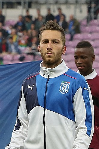 Andrea Bertolacci - Bertolacci playing with Italy in 2015