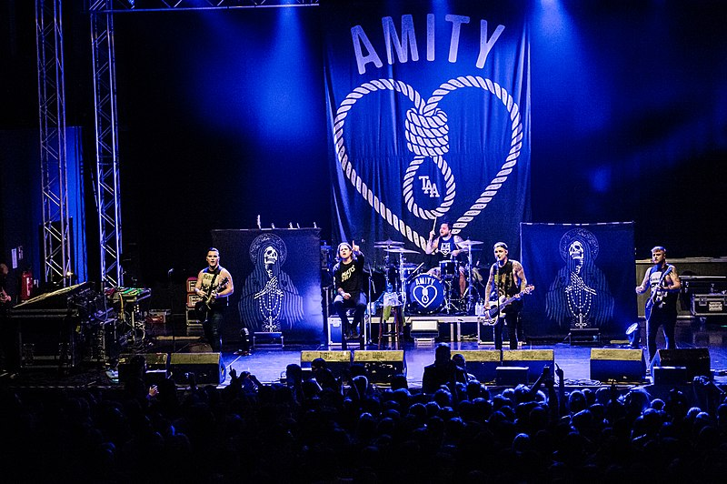 The Amity Affliction Open Letter Live