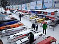2015 Bobsleigh World Cup in St. Moritz - sleds.JPG