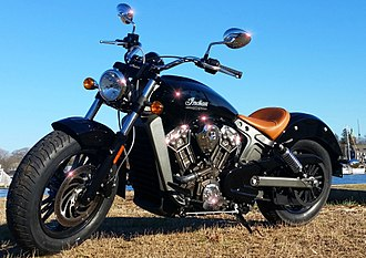 Indian Scout (motorcycle) - Image: 2015 Indian Scout 1