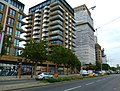 2015 London-Woolwich, Cannon Square - Crossrail development 07.JPG