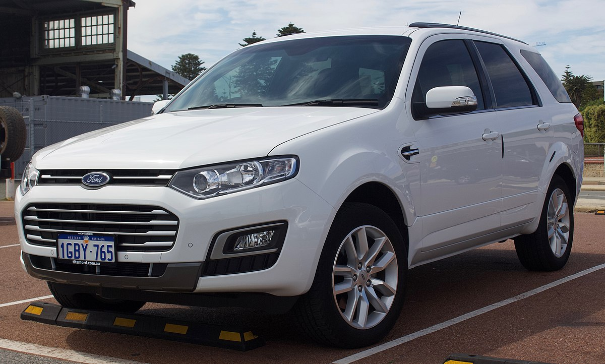 2015 Toyota Suv >> Ford Territory (Australia) - Wikipedia