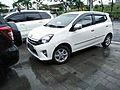2016 Toyota Agya 1.0 G, Kuta.jpg