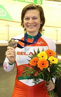 Tatsiana Sharakova Belarusian racing cyclist