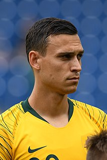 Trent Sainsbury Australian soccer player