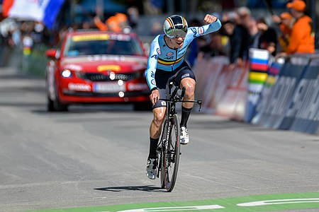20180925 UCI Road World Championships Innsbruck Men Juniors ITT Remco Evenepoel 850 8465.jpg