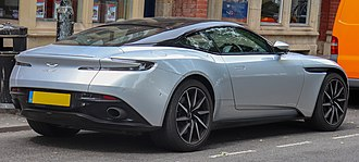 Aston Martin DB11 - Image: 2018 Aston Martin DB11 V8 Automatic 4.0 Rear