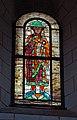 2019-01-27 Augsburg 082 Augsburger Dom, Prophetenfenster Daniel (47101327862).jpg