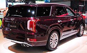 2019 or 2020 Hyundai Palisade rear NYIAS 2019.jpg