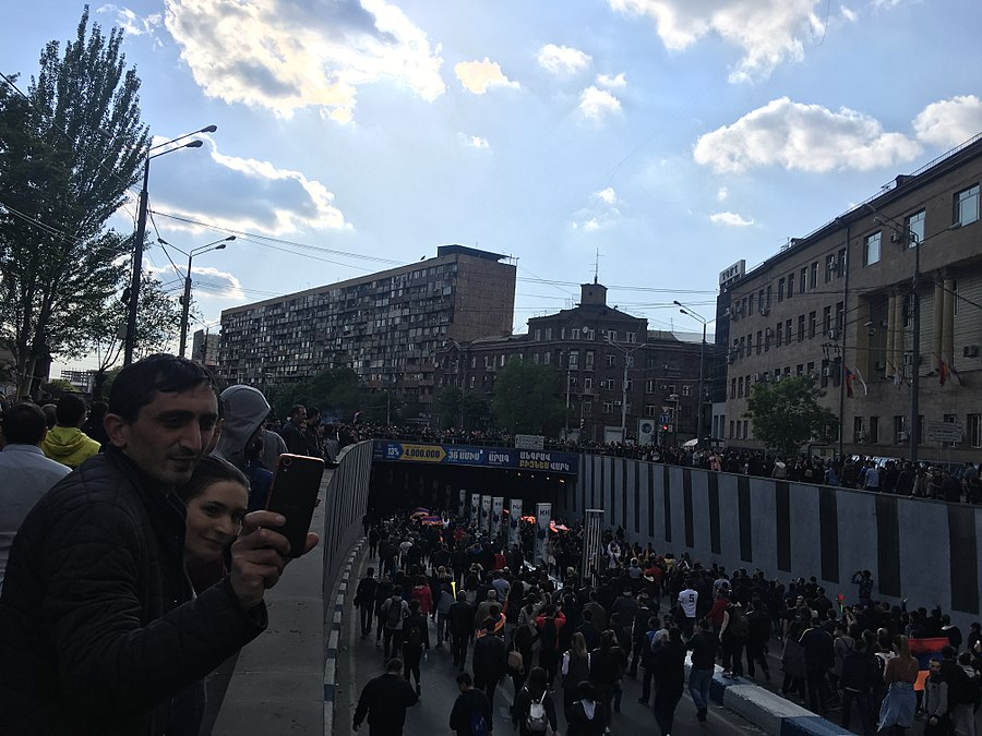 22.04.2018 Protest Demonstration, Yerevan 74.jpg