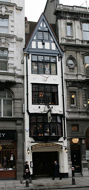 Ye Olde Cock Tavern, 22 Fleet Street, City of ...