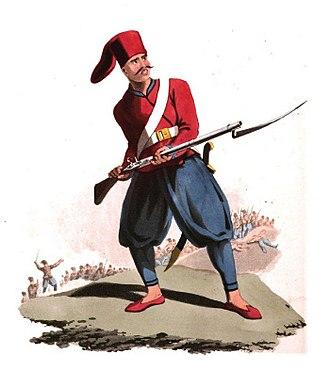 Nizam-i Djedid Army - Image: 25 Soldier of European Infantry