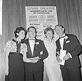 25 jaar op toneel, André Carrell en Johnnie Jordaan gehuldigd, Anneke Grönloh na, Bestanddeelnr 916-4715.jpg