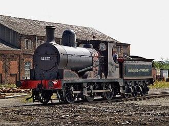 L&YR Class 27 - Preserved 27 class locomotive 1300 on the East Lancashire Railway
