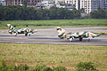 2 Nanchang A-5 Lined Up for Formation Take Off (8130192701).jpg