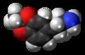 3,4-Ethylidenedioxyamphetamine molecule spacefill.png