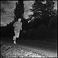 30.8.66. Le colonel Bigeard fait son footing quotidien à Lacroix-Falgarde (1966) - 53Fi5509.jpg