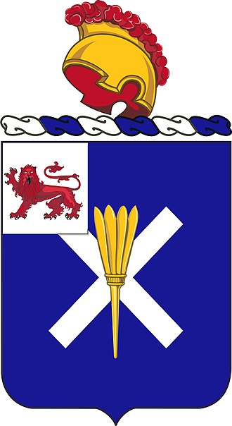 32nd Infantry Regiment (United States) - Coat of arms