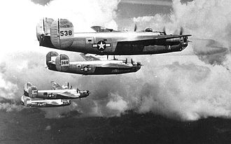 908th Expeditionary Air Refueling Squadron - B-24 Liberators of the 22d Bomb Group