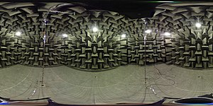 Anechoic chamber - 360 image of an anechoic chamber