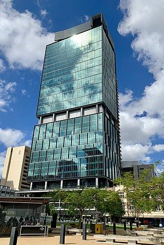 400 George Street - Image: 400 George Street, Brisbane in November 2018