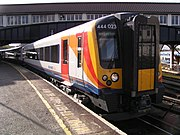 A Class 444 Desiro unit used by SWT for longer-distance services.