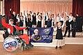 4 гимназия - Первоклашки поддержали флаг А.Суворова (Новороссийск).jpg
