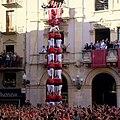 4 de 9 sense folre - Colla Joves Xiquets de Valls - Primer descarregat a Valls (27-10-2013).jpg
