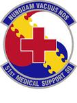 51 Medical Support Sq emblem.png